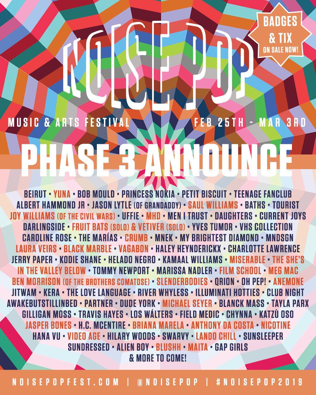 Noise Pop / San Francisco, CA