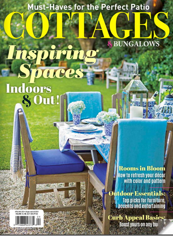 Cottages & Bungalows | April\May 2018: Vintage Charm & Modern Flair
