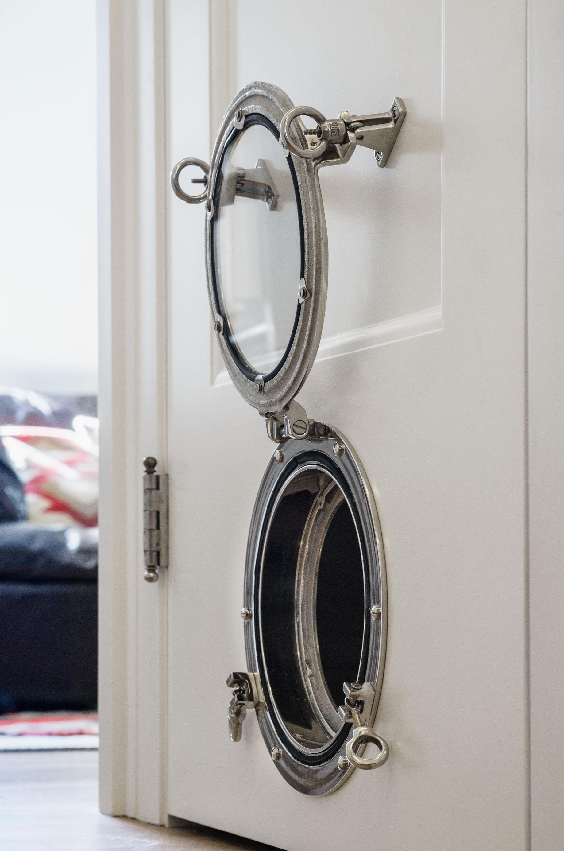 The Porthole pet door.