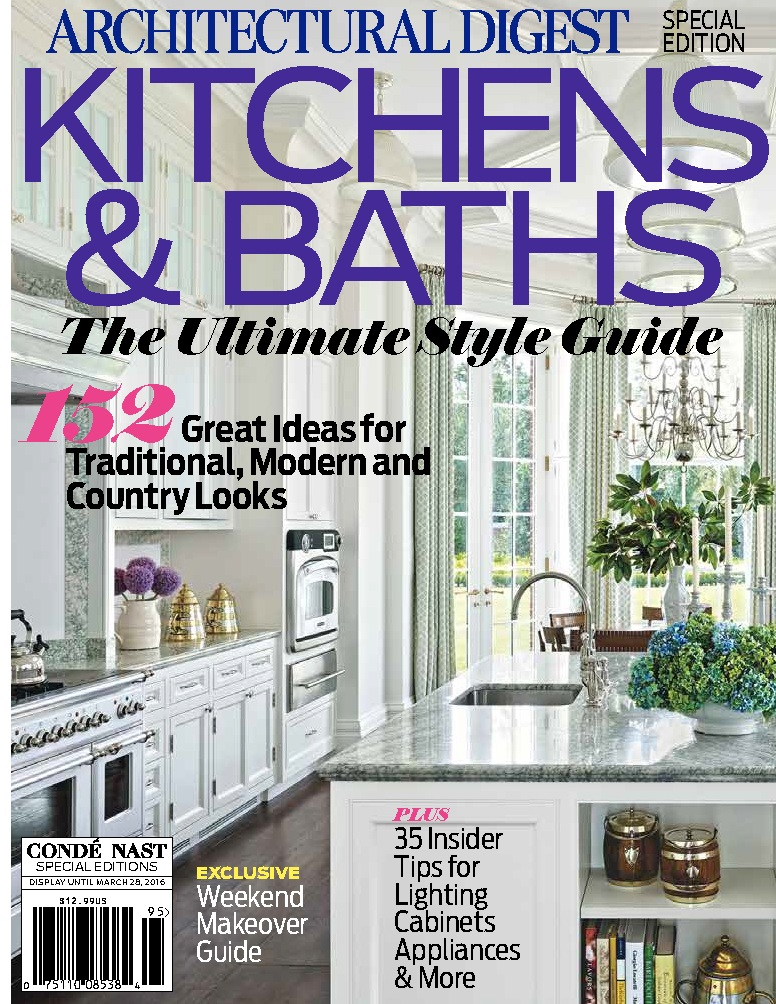 Architectural Digest | Kitchens & Baths Special Edition:
