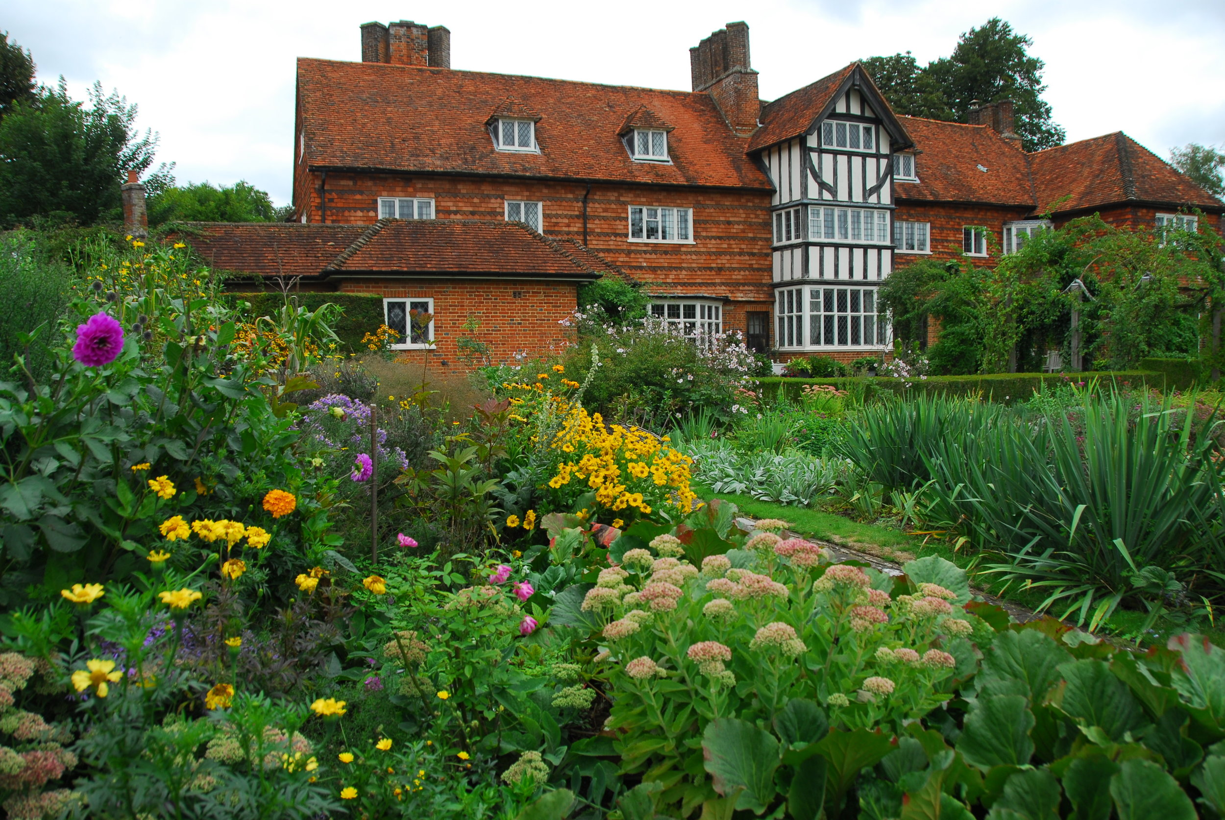 """THE MANOR HOUSE, UPTON GREY   """"This is the only pure restoration of the work of the ground-breaking designer Gertrude Jekyll, by the indefatigable Rosamund Wallinger. It's a window back into our perennial-past, and a perfect location to consider how far (or not) we've come."""""""