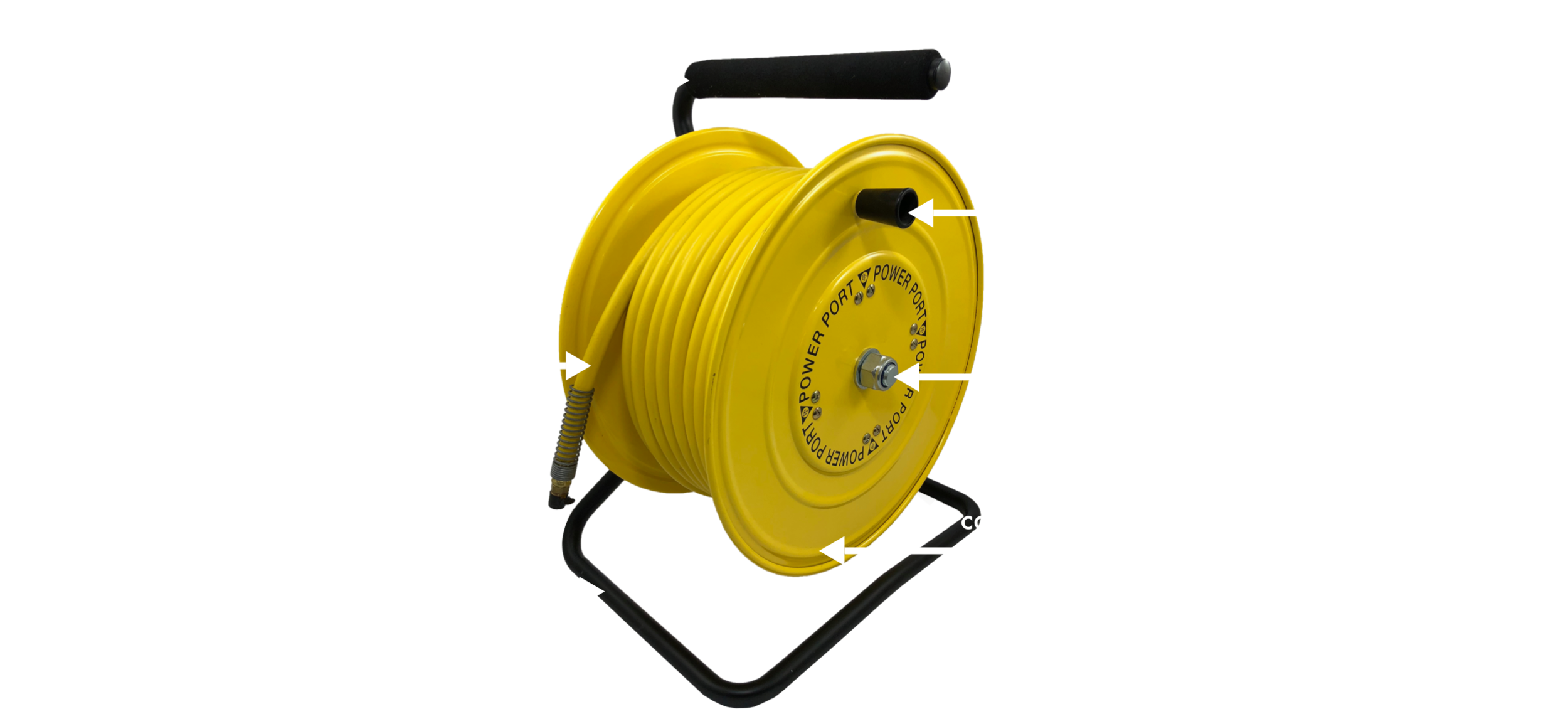 Heavy Duty Steel Air Hose Reel