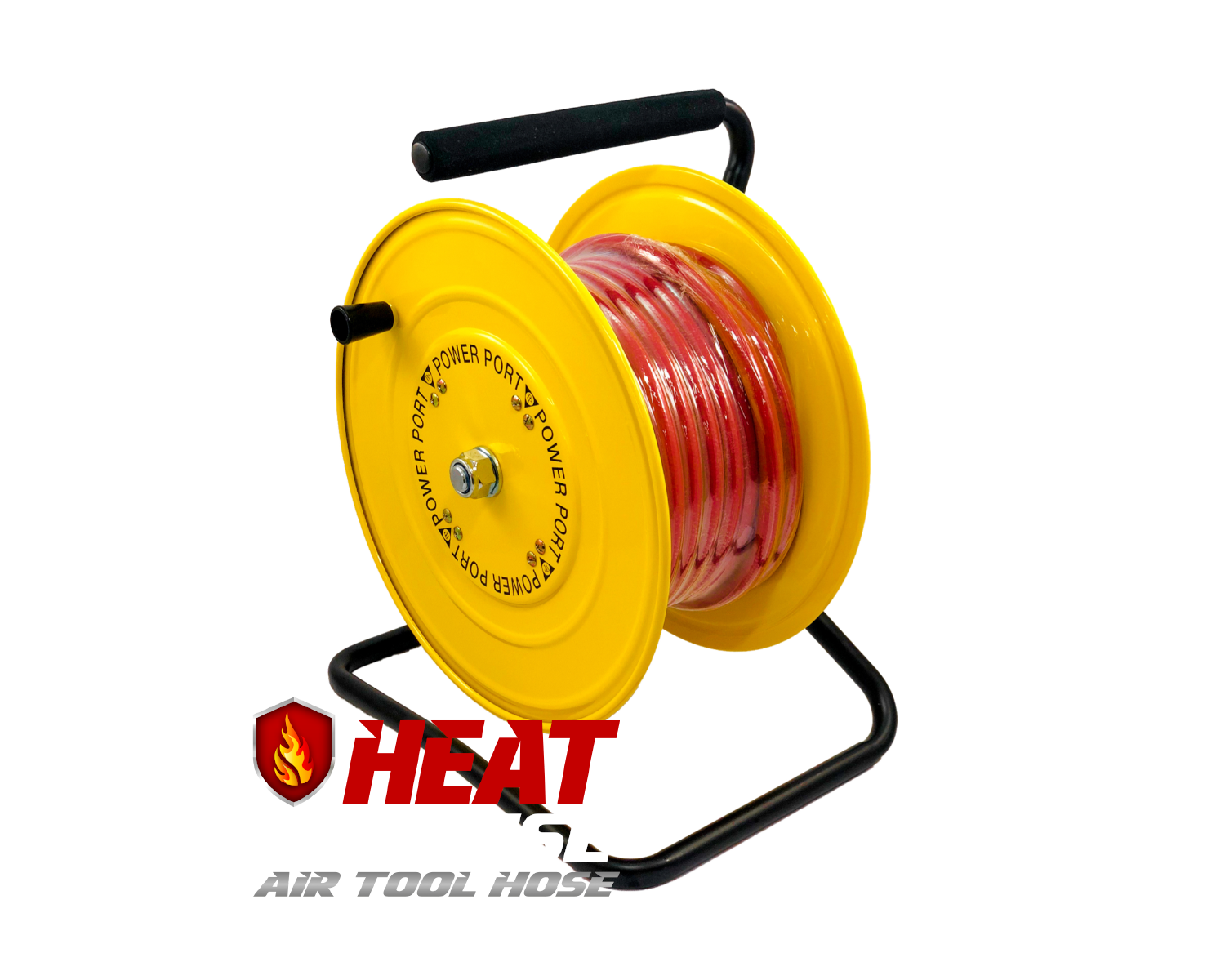 Heat Defense Steel Air Hose Reel