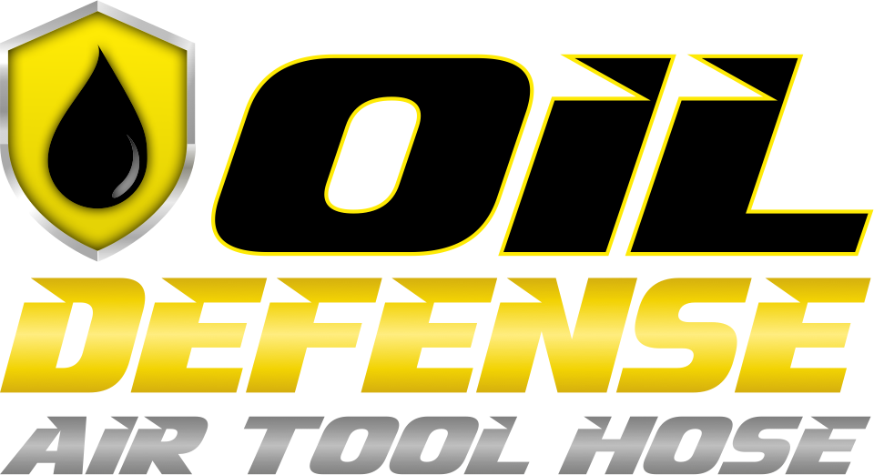 Oil Defense Air Tool Hose Logo