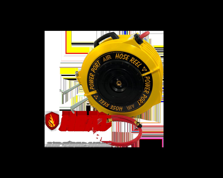 Heat Defense Retractable Hose Reel
