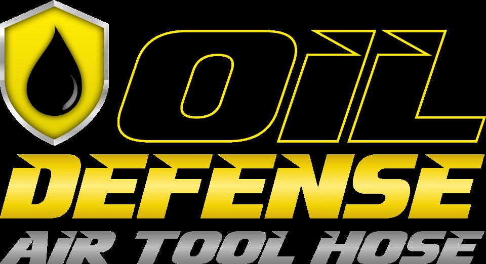 Oil Defense Air Tool Hose Logo