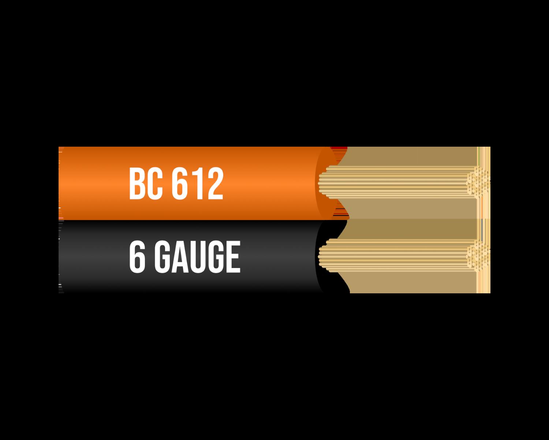 6 Gauge 100% Copper Jumper Cable