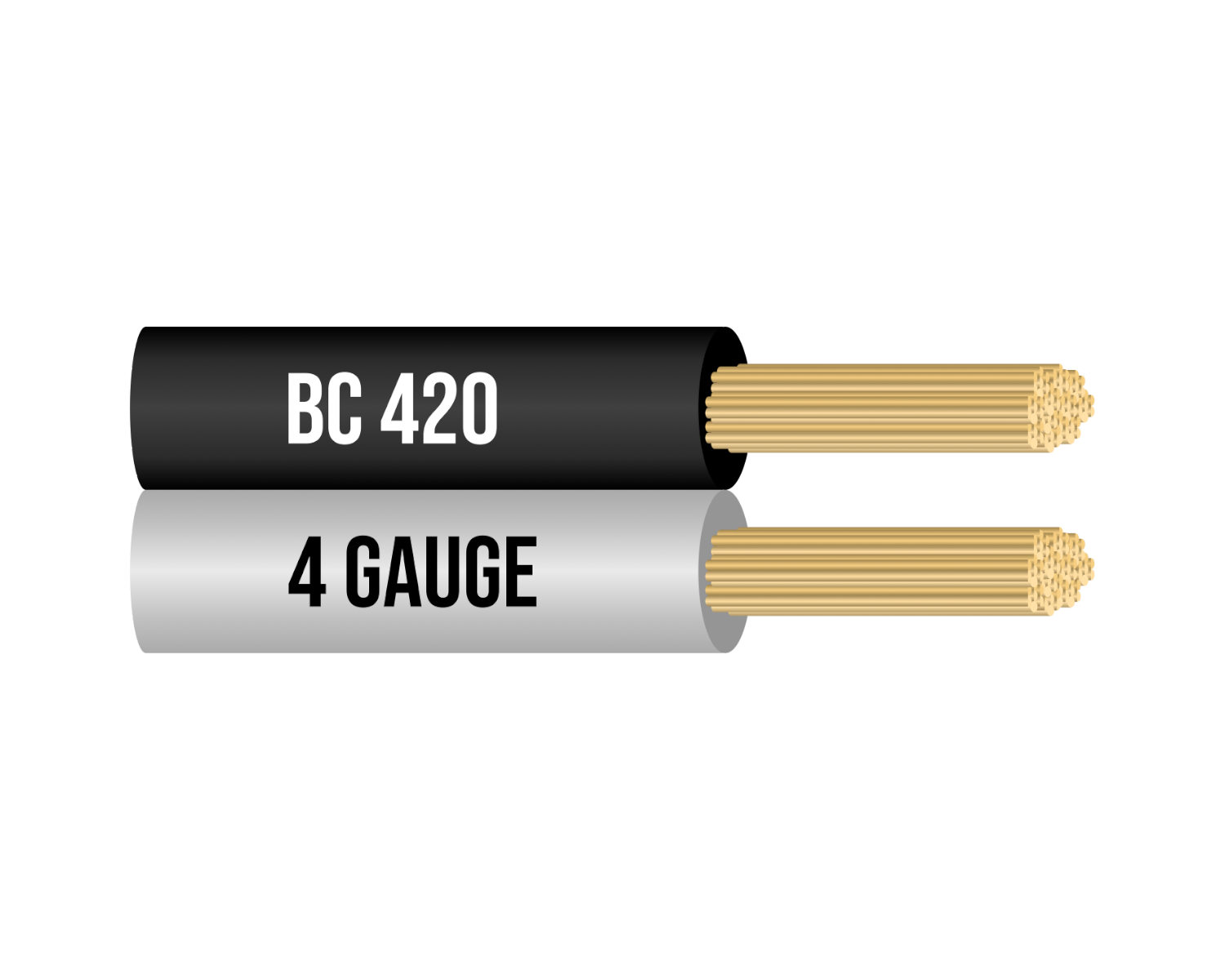 4 Gauge 100% Copper Jumper Cables