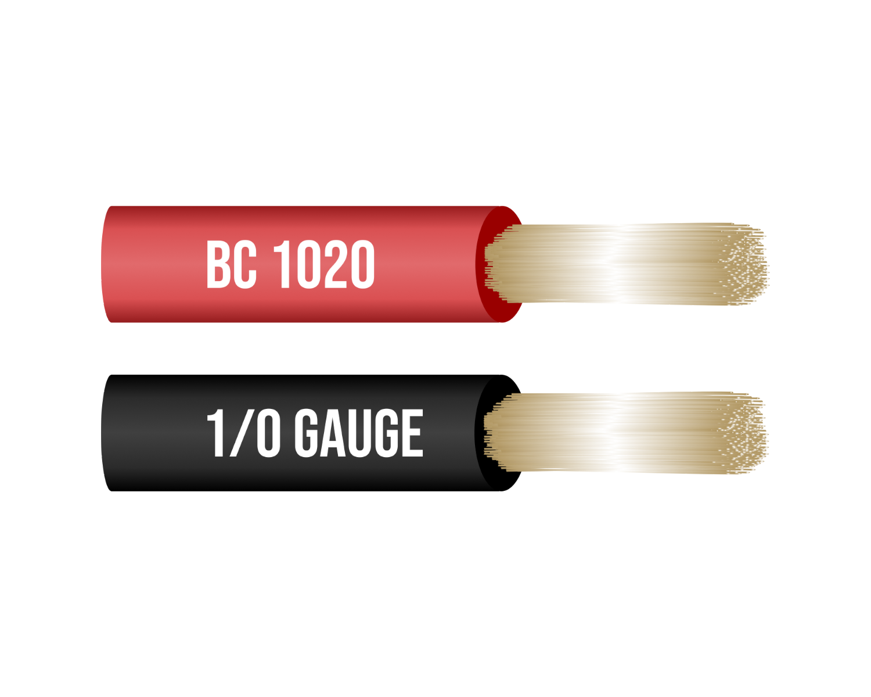 1 Gauge Copper Jumper Cables