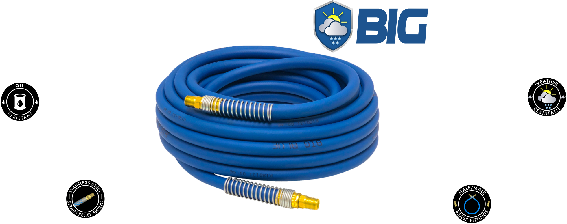 Big Blue PVC Air Hose