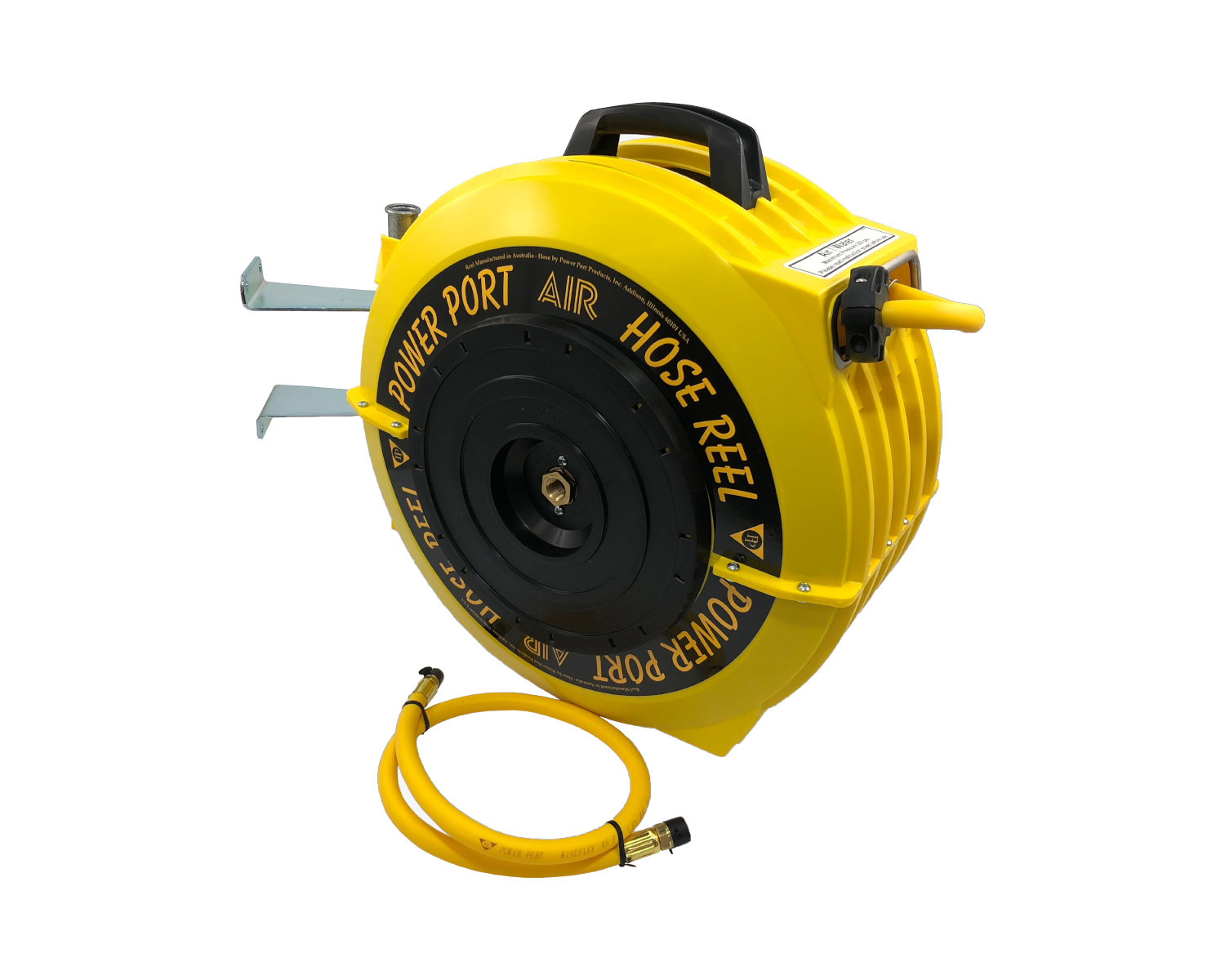 RETRACTABLE HOSE REEL -