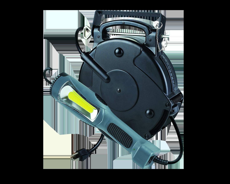 POWER REEL1300 - 50' Cord Reel LED Work Light(COMING SOON)