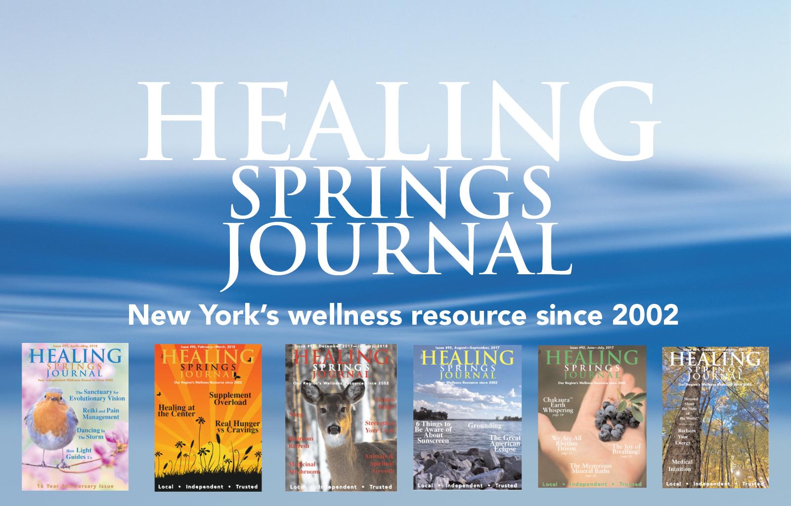 The Healing Springs Journal