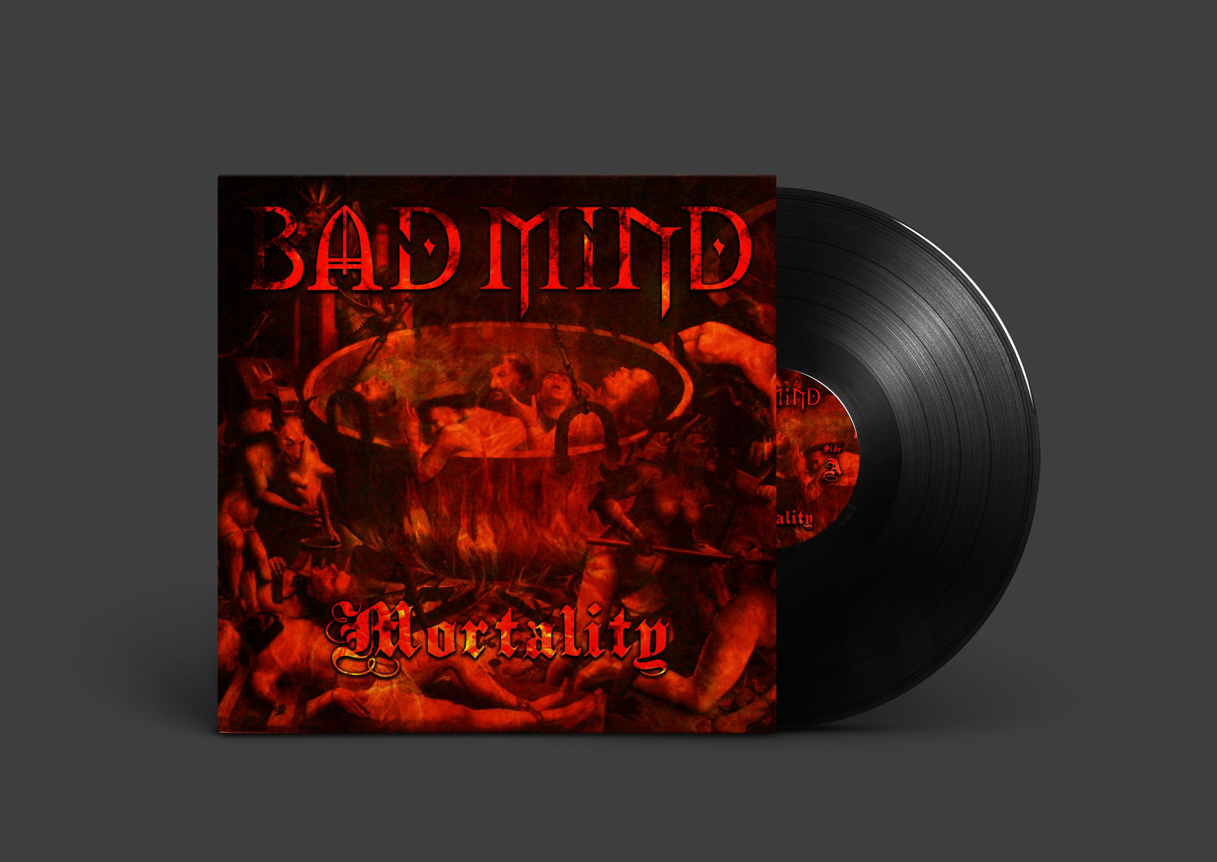Mortality Vinyl - Front