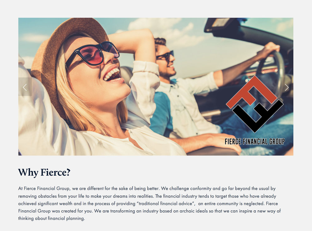 Fierce Financial Group: Financial Planning