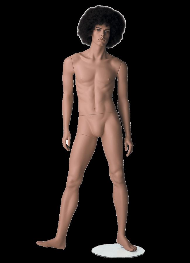 "HEARTBREAKER FEMALE POSE 4  ITEM# HB-F4C  Measurements:  Height 71""  Bust 32-1/2""  Waist 23-3/4""  Hip 34 1/2""  Heel 4"""