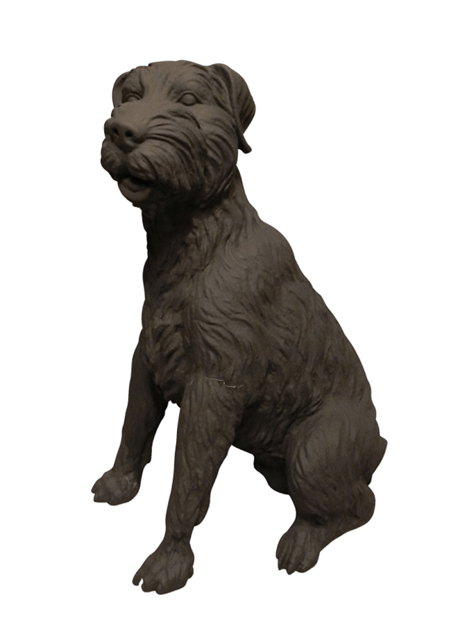"CHESTER - TERRIER   Item# MD-DOG3  Height 22""  Width 11""  Length 17"""