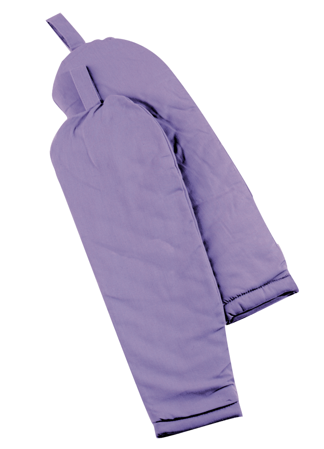 LONG LENGTH SLEEVE PADS W/ PINNABLE TAB – Male   ITEM#: FA100-1  Length 24"