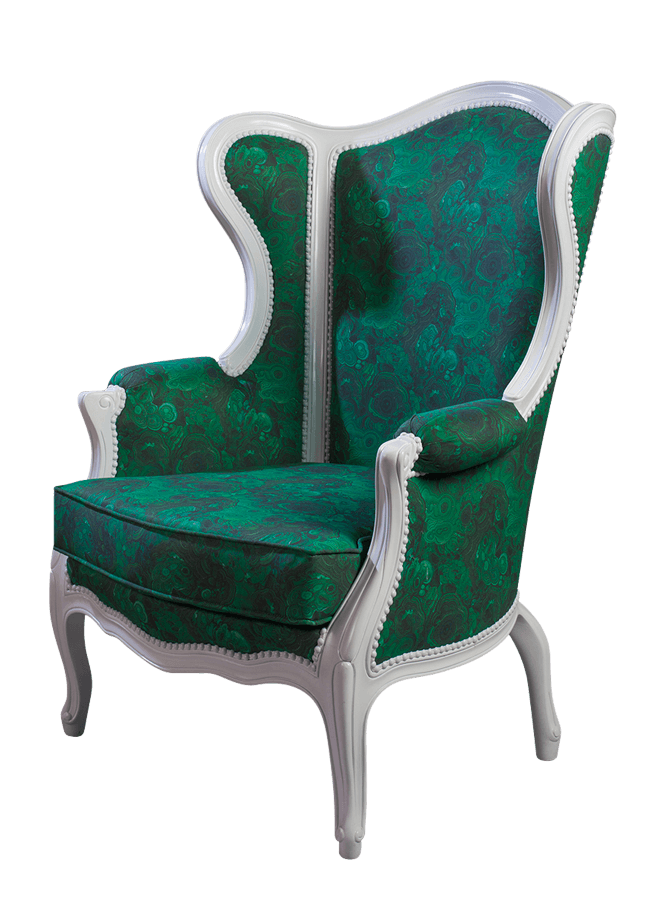 Residential Collection – Arm Chair   ITEM#: 4659-C  35″w x 35″d x 47″h  Other finishes are available