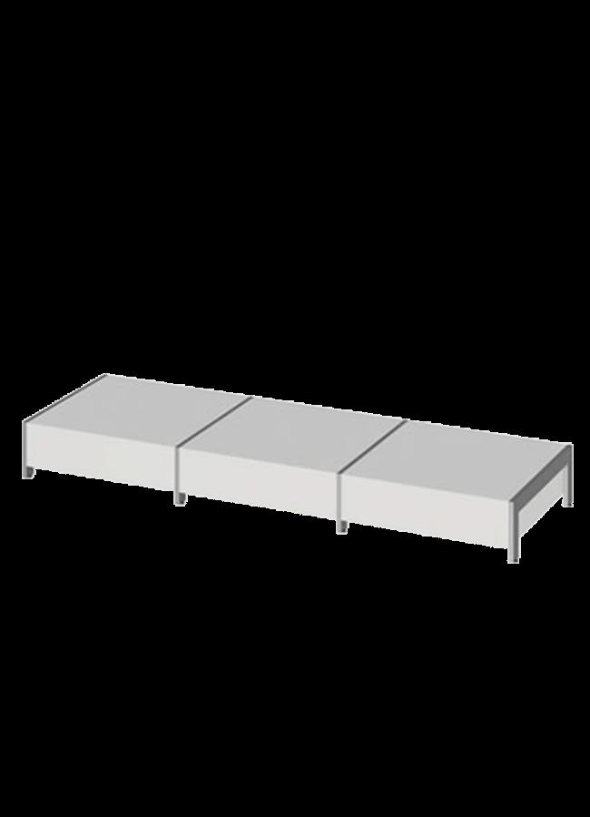 "Floor Collection – Lite Platform   ITEM#: LITE PLATFORM  31"" x 31"" x 9"" Lite Platform  Other finishes are available"