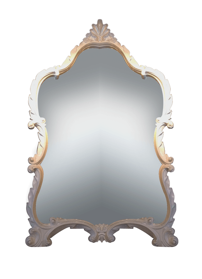 Residential Collection – Mirror   ITEM#: 4266-B  31″w x 2″d x 49″h  Other finishes are available