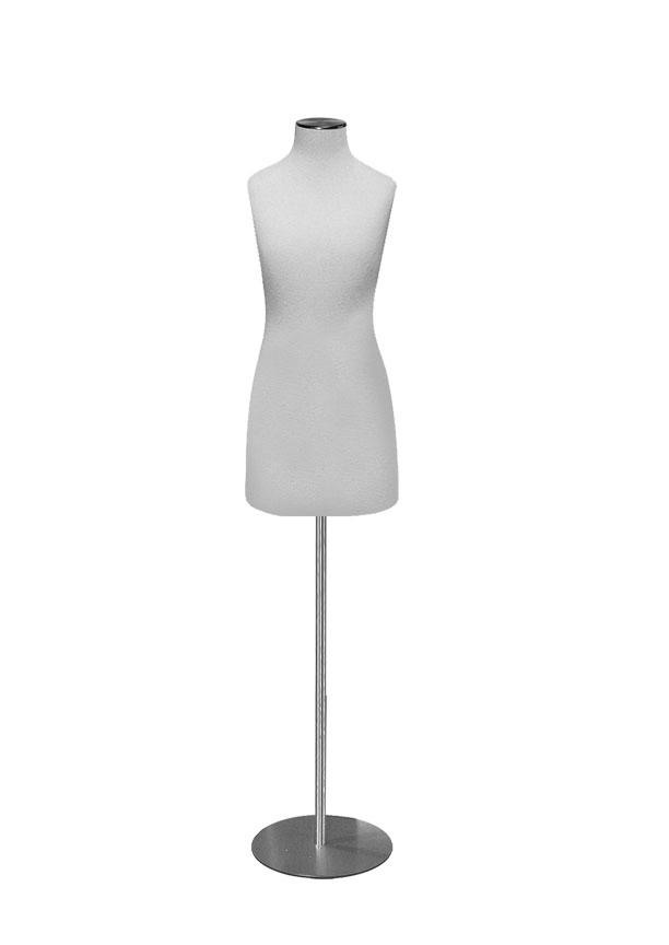 "G015-4 GIRL SIZE 10 DRESS FORM  Height 27 ½"" (form only)  Bust 27 ¼""  Waist 24 ½""  Hip 28"""