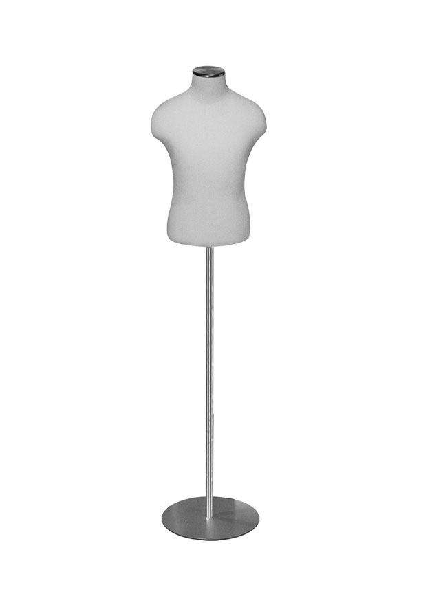 "B008-1   Boy Size 8 Shirt Form  Height 19"" (form only)  Chest 27""  Waist 24 ¼"""