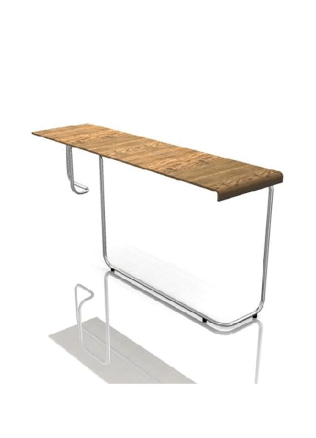 "RIBBON MC-CC12  Pivot Table  76"" x 21"" x 34 ½"" h"
