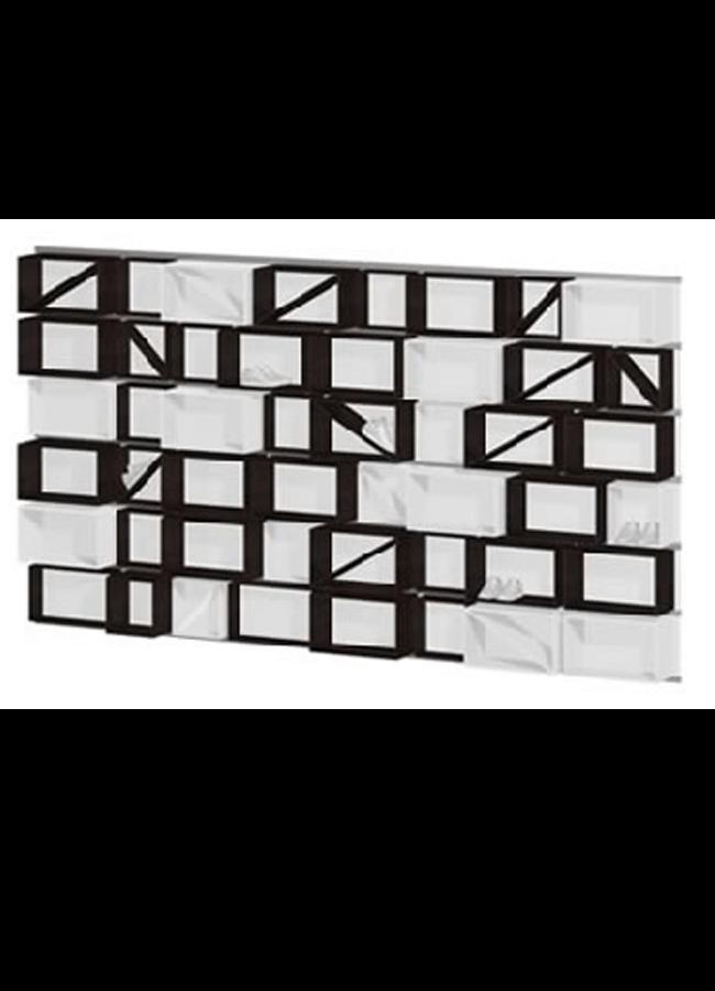 """WALL ITEMS  Wall Rail  WL301A 96"""" x 3"""" x 2"""" Double Wall Rail  Rail Cube: CB001W 15"""" x 15"""" x 15"""" 4 Sided Cube  Rail Cube: CB002W 15"""" x 24"""" x 15"""" 4 Sided Cube  TK: CB001WDV 17"""" x 15"""" x 1"""" Divider  Double Wall Rail: CB002WDV 26"""" x 15"""" x 1"""" Divider"""