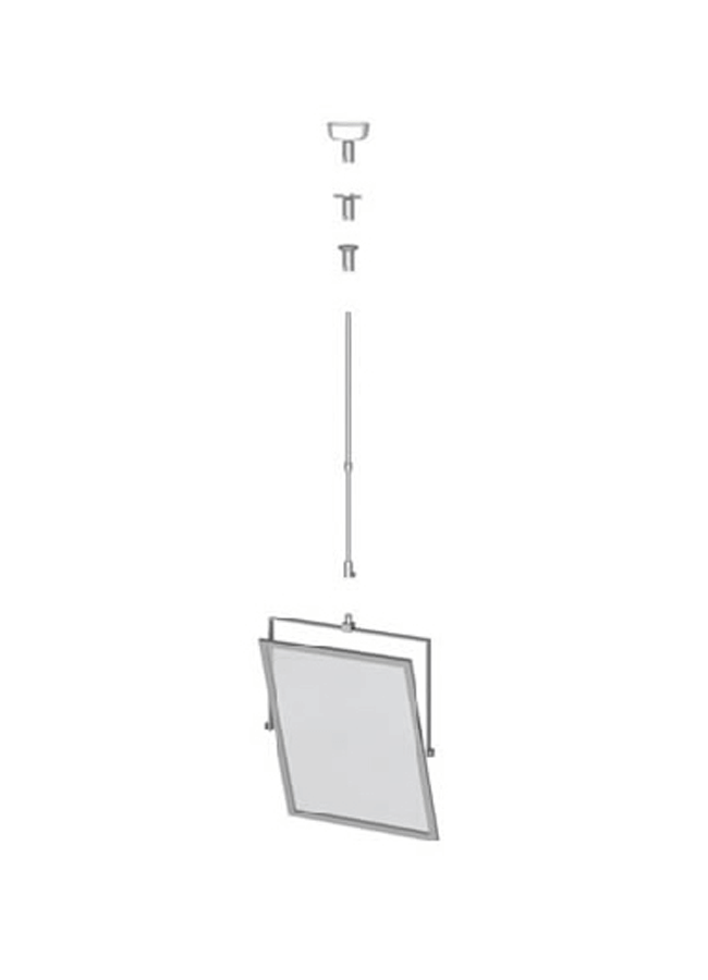 """GRAPHIC HOLDER ITEMS 3  Vertical Graphic Holder  SH005A  22"""" x 28"""" Telescoping"""