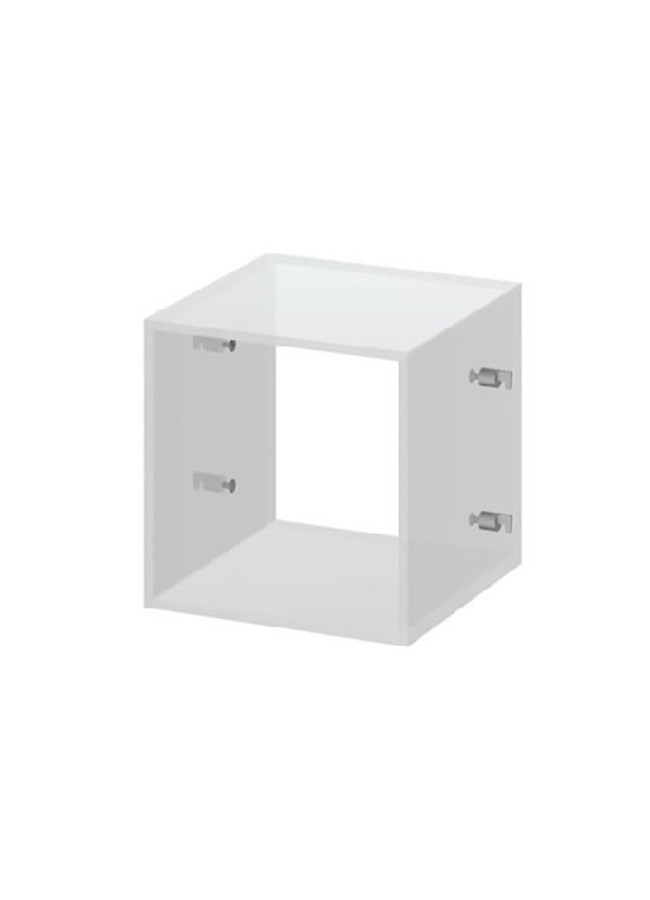 "CEILING ITEM 11  Hanging Cube  GH176P  12"" x 12"" x 12""  Frosted Plexi"