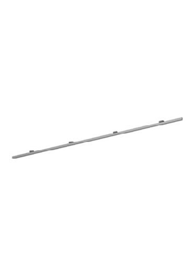 "CEILING ITEM 22  Single Ceiling Channel Drywall Mount  GH206A 96""  Aluminum, Black, White, Silver"