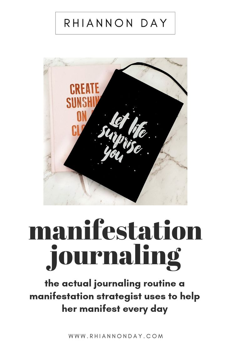 The exact manifestation journaling routine a manifestation strategist uses to help her manifest, be more magnetic, and elevate her energetic vibe every day. Learn how to get started with a manifestation journaling routine so that you can energetically align with what you want to call in. #manifestation #lawofattraction #journal #journaling #manifestationjournaling #lawofattractionplanner #loa #manifestationcoach #personaldevelopment