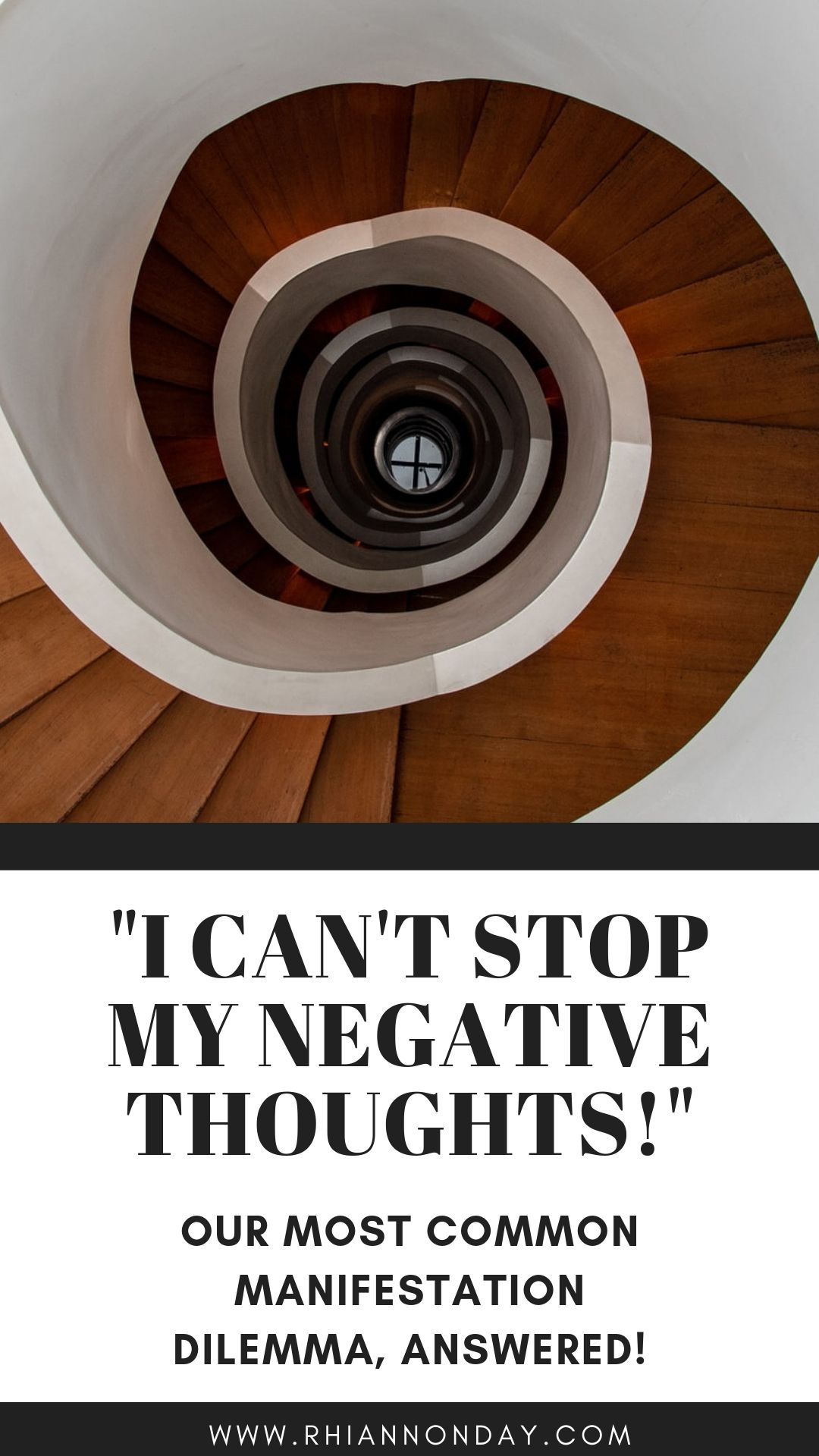 If you're doing everything to stop a negative thought spiral, thinking positive isn't working, and you're worried that it's going to manifest in your life, you're not alone. In fact, it's our most common manifestation problem. We sort out the myths from the truth about thoughts and manifestation, and provide tried and true techniques to get off that negative thought cycle and lift your vibes high! #negativethoughts #manifestation #thinkpositive #highvibe #staypositive #stayhighvibe #lawofattraction