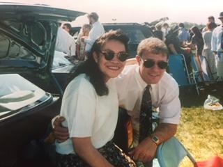 Susan and Rob as UVA students