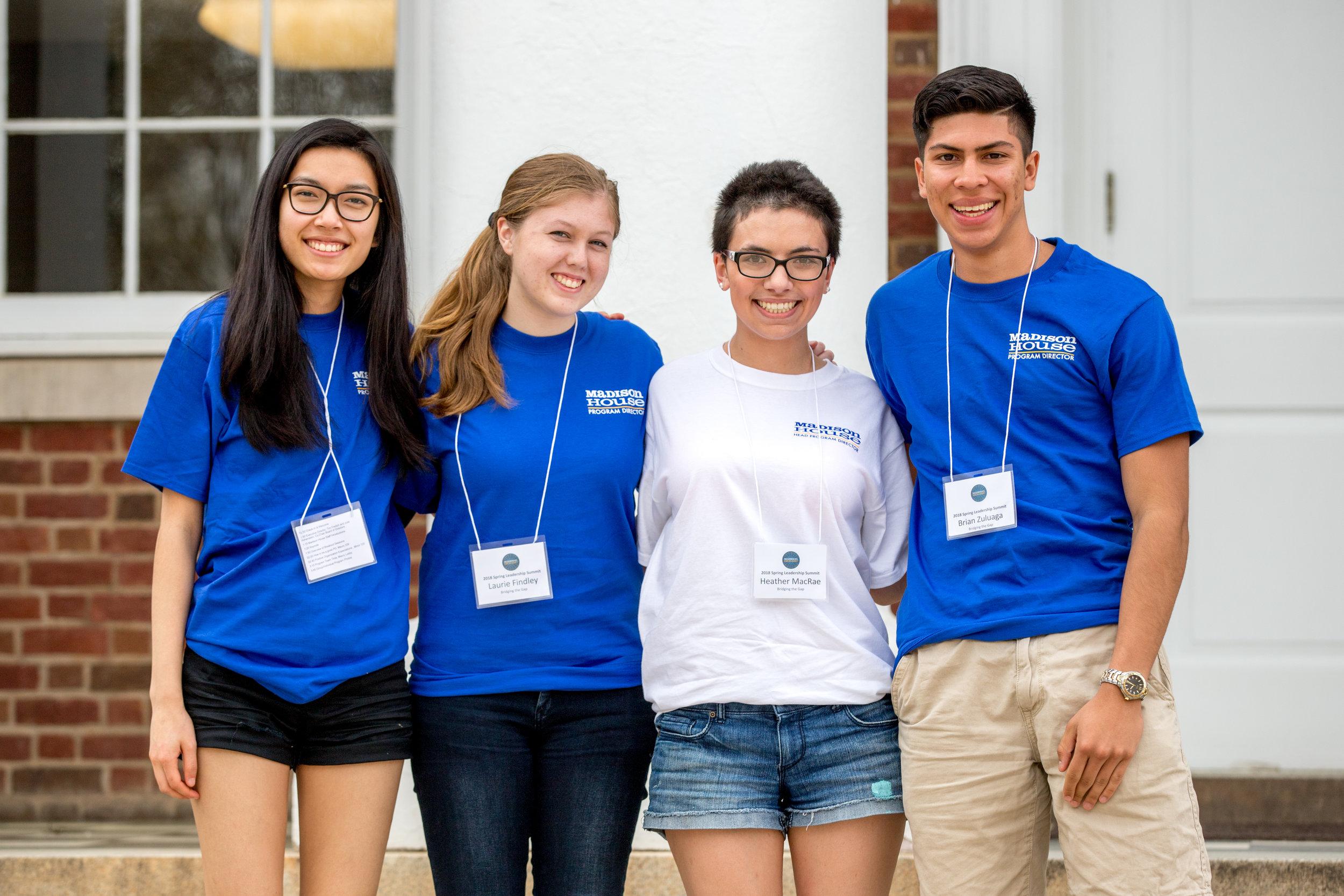 Student leaders of Madison House's Bridging the Gap program.jpg
