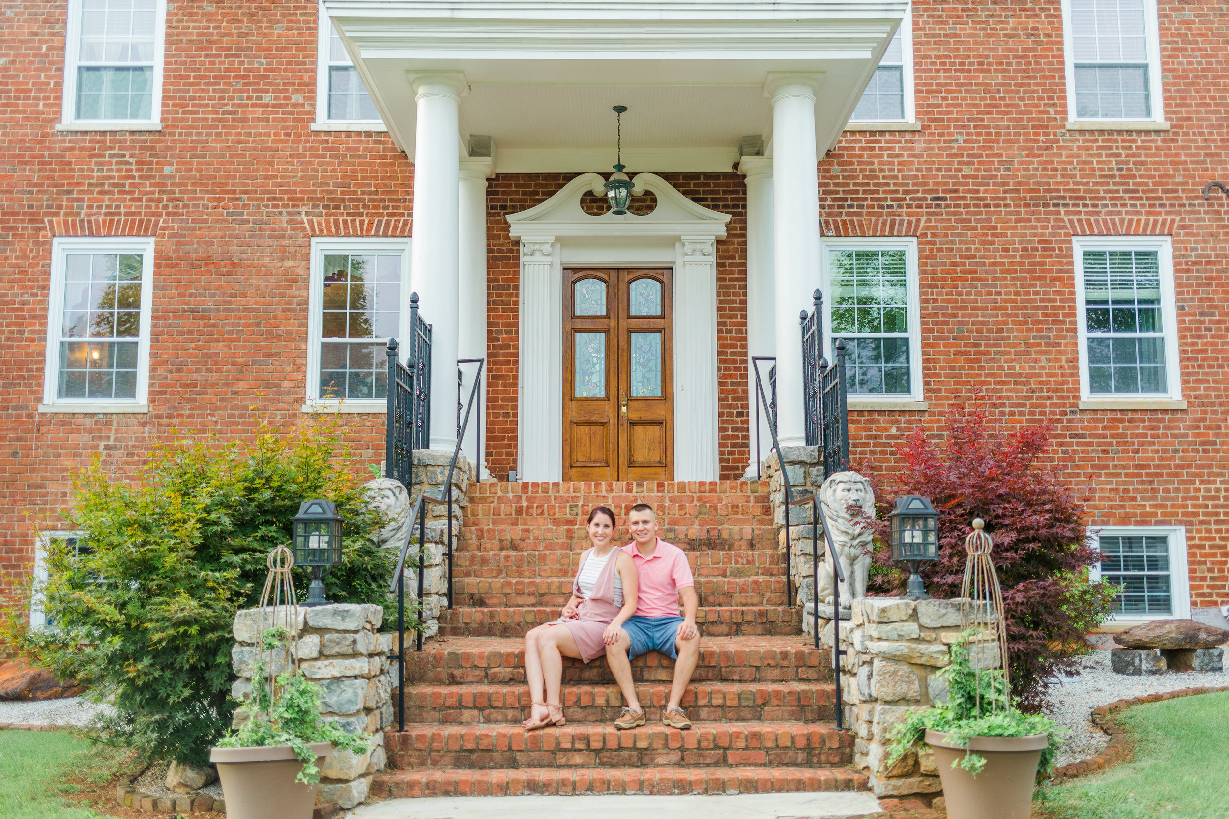 Isabelle and Jordan Russell owners of Belle Garden Estate