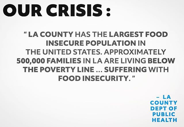 #savethehumans #STH #sthcampaign #foodinsecure #endinghunger #homeless #povertyline #losangeles #helpingeachother #lacounty