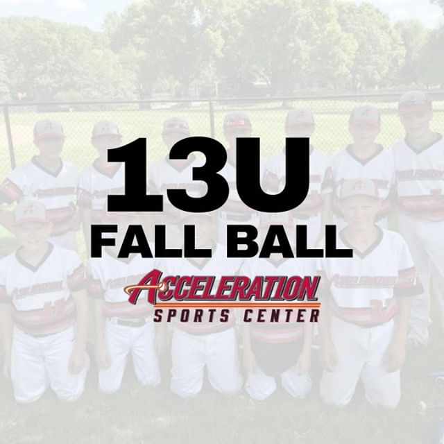We have 3 spots available on our 13U Fall Ball Team ⚾ if you are interested, head over to our website and see details under 👉  Leagues   13U Fall Ball 🏅