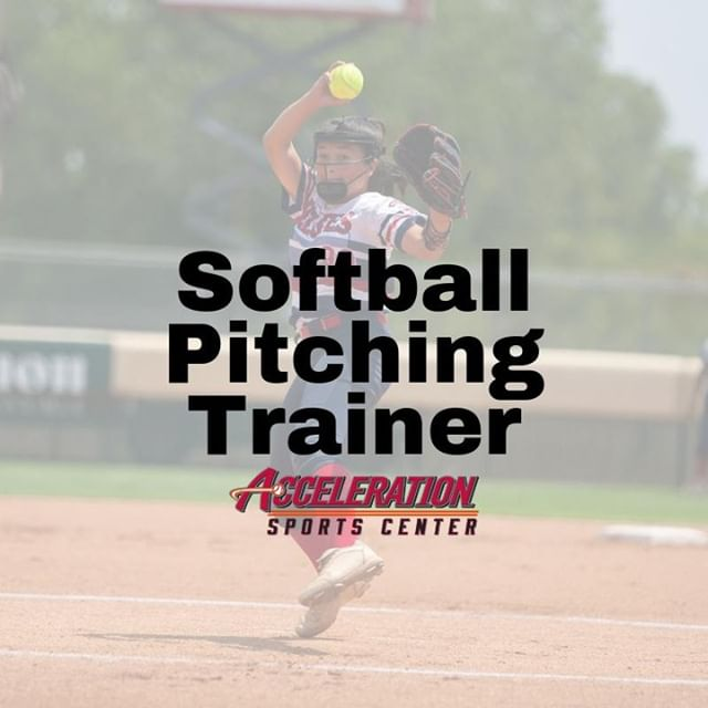 Acceleration Sports Center is seeking a Softball Pitching Trainer to join our team 💪 The Softball Pitching Trainer will provide guidance and maintain positive interactions to student-athletes, with a primary focus on softball players.  If you are interested, learn more here 👉 http://ow.ly/eHWH50vo9wg