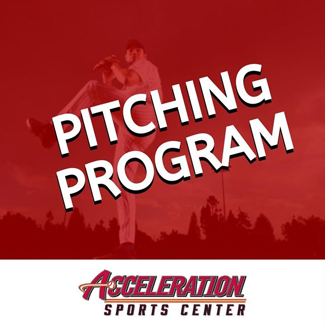 It's not too late to sign up for Augie's Pitching Program starting Tuesday ⚾  Head over to our website, under Programs for more details 👉 www.accelerationsportscenter.com