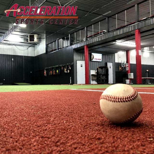 Acceleration Sports Center has everything you need to work on your pitching, hitting, and defense skills inside our lanes ⚾ When you reserve a lane with us, you aren't just reserving an area to throw the ball- all of our equipment is available for you to use. Turf lane rental can be for more than baseball or softball. Rent a lane to throw the football 🏈 or run sprints!