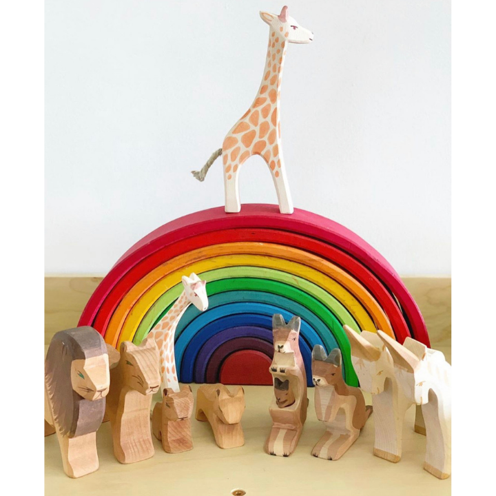 Ostheimer Collection - A high quality collection of beautiful wooden animals that will be passed on through generations.