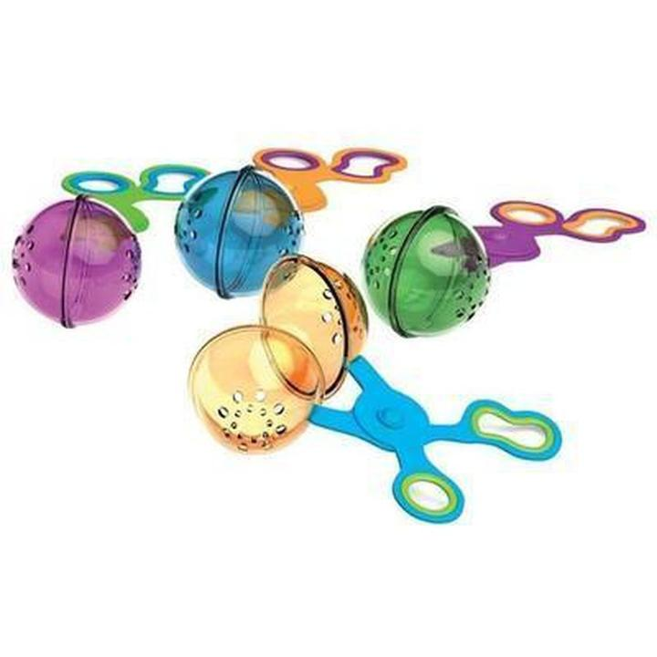 Handy Scoopers - Sold individually these scoopers are great for using with sensory play material like rainbow rice or beans. They help to develop early scissor skills and hand strength.