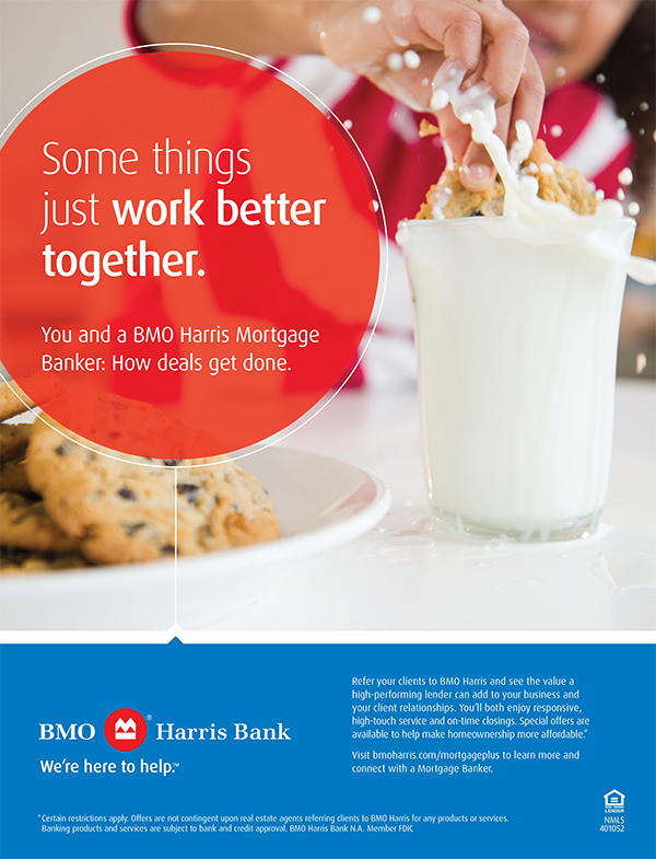 BMO Harris Realtor Mortgage Campaign