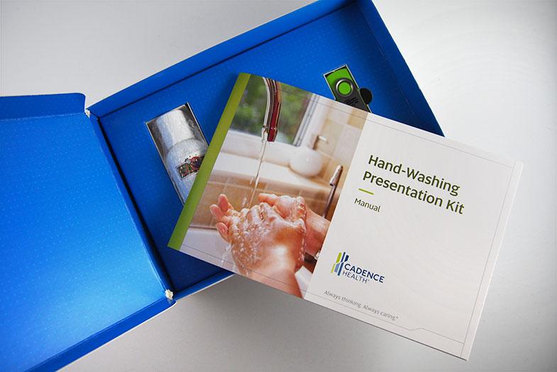 Cadence Health Hand-washing Kit