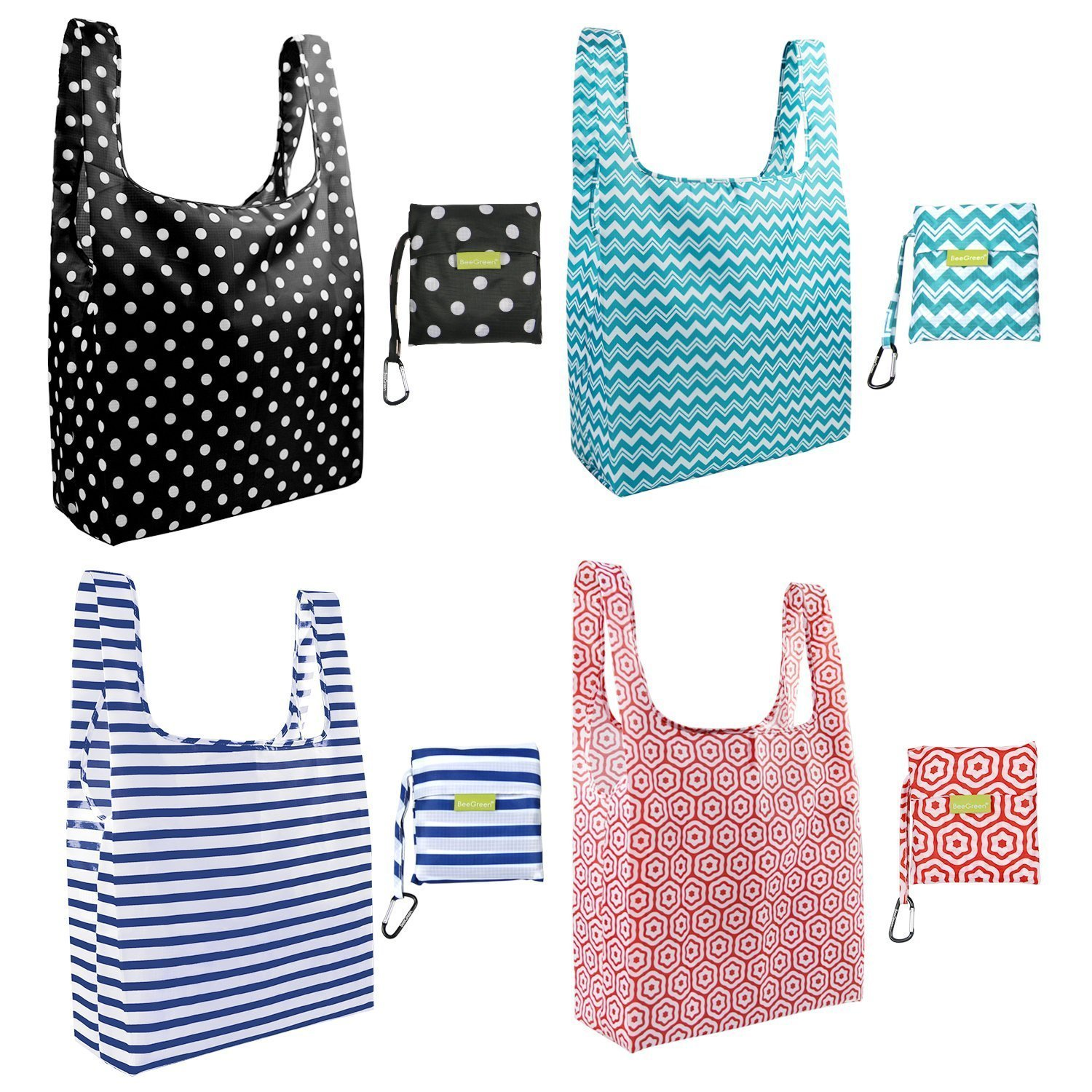 BeeGreen_Basic_Foldable_Reusable_Grocery_Bags_with_Improved_Pouch_4_Geometric_Patterns_2048x.jpg