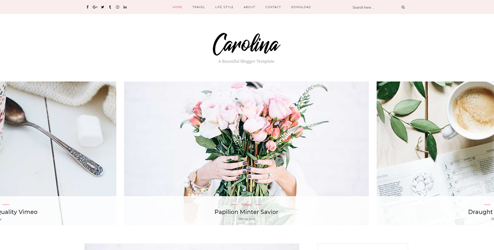 Sixty Eight Ave - Carolina Blogger Theme