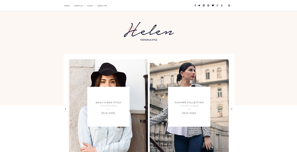 Sixty Eight Ave - Helen blogger template