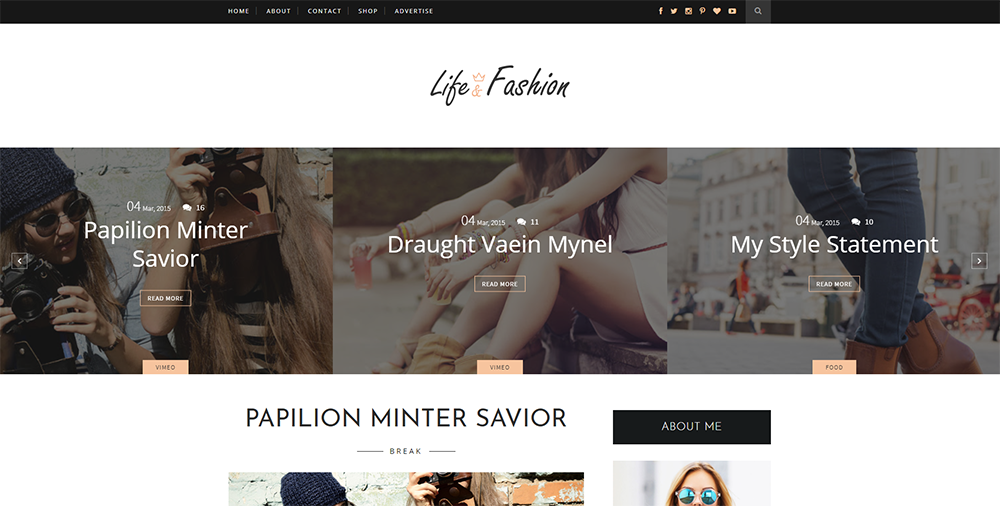 Sixty Eight Ave - life and fashion blogger template